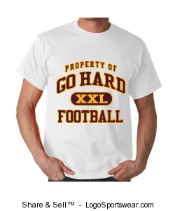 GH2 Football T-Shirt Design Zoom
